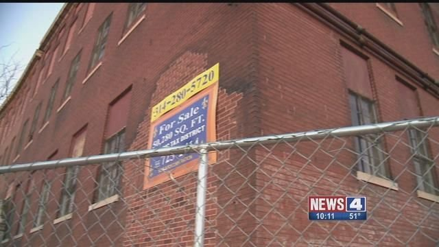 The building known as the Old Mop Factory will soon be converted into apartments. Credit: KMOV