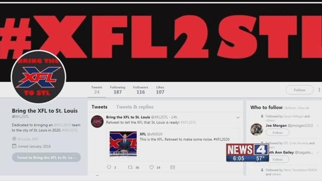 An announcement by Vince Mc Mahon that he is bringing back the XFL has fueled speculation St. Louis may be a candidate for a franchise. Credit KMOV