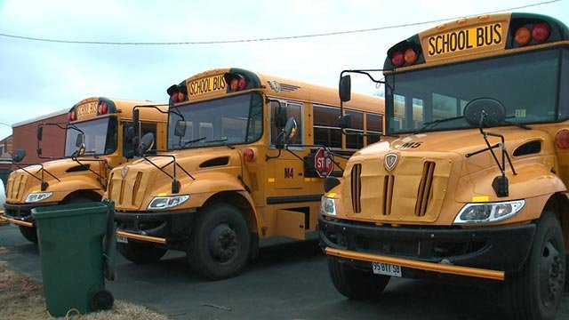4 buses had their batteries stolen in Madison over the weekend (Credit: KMOV)