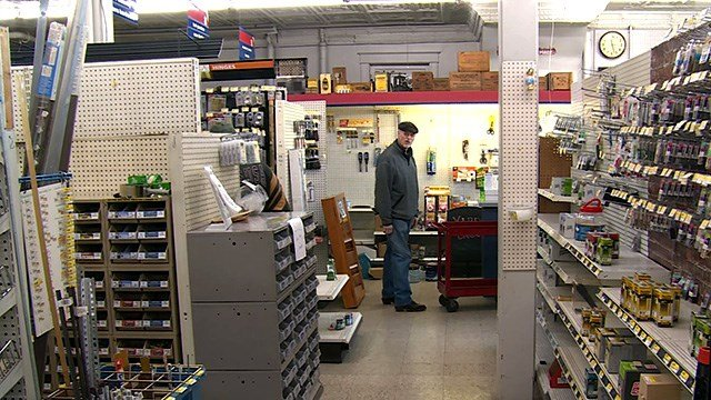 Schulte Hardware in Normandy, owned and operated for four generations, will shut its doors for good Wednesday. (Credit: KMOV)