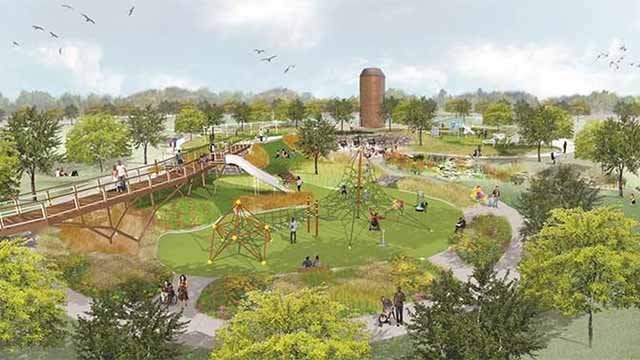 A new park in St. Charles County set to open later this year will honor the military. Credit: KMOV