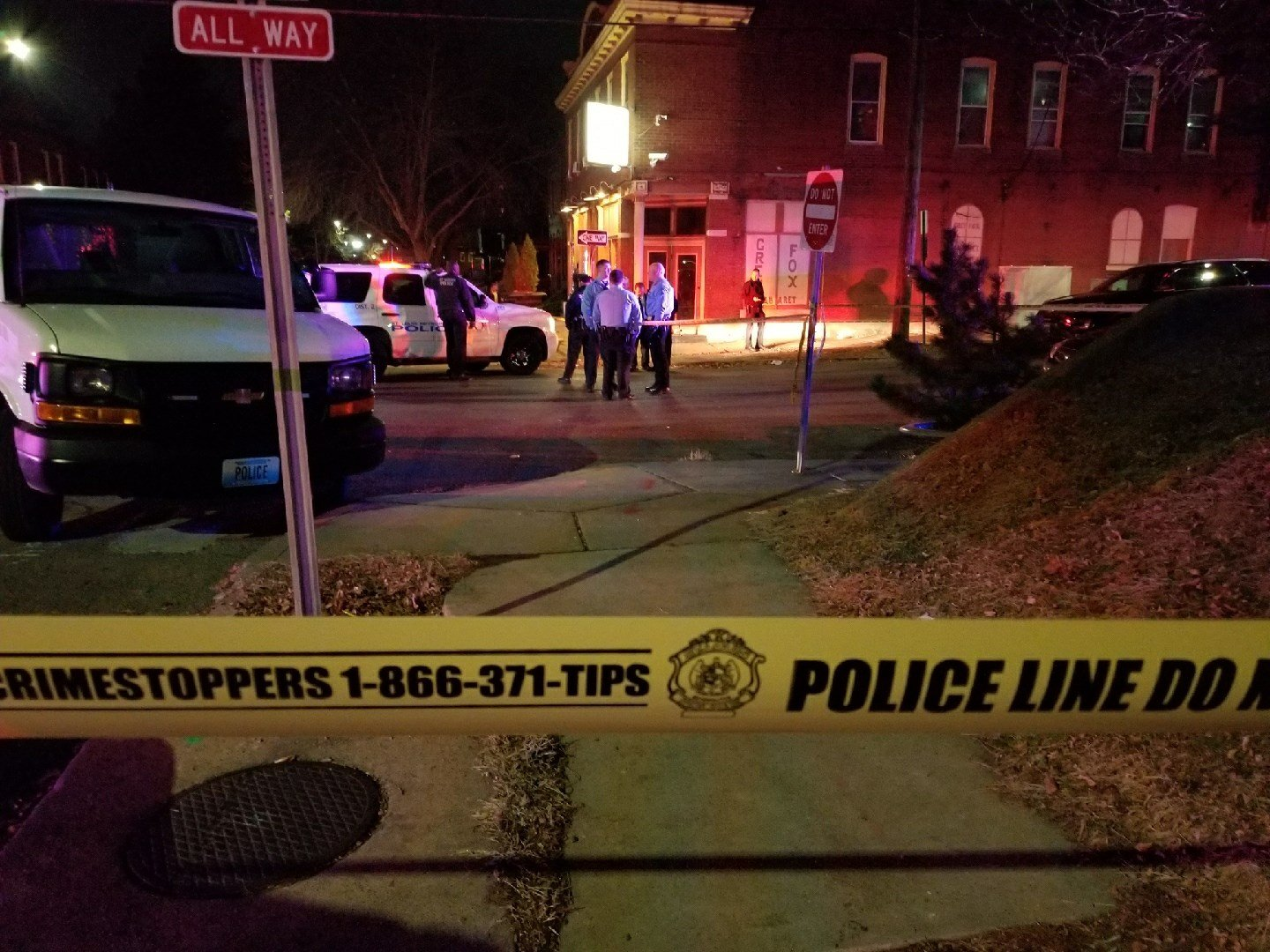Police investigating officer-involved shooting at Grey Fox Cabaret in South St. Louis.