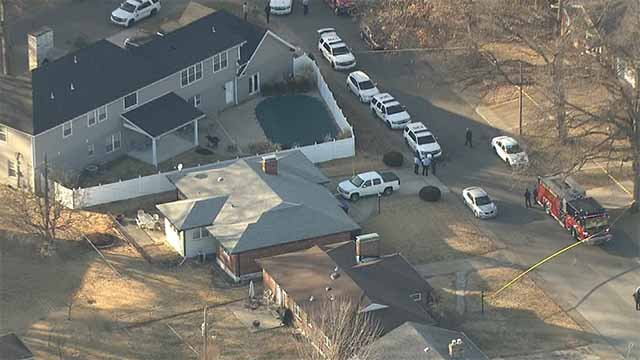 3 people were found dead inside a home in St. Louis Hills Friday afternoon. Credit: KMOV