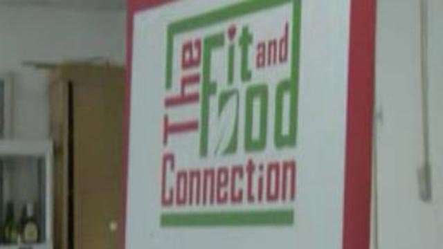 "Sign for ""The Fit & Food Connection"" (Credit: KMOV)"