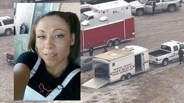Officers searched a large area on Tuesday for Denita Hedden, 37, who went missing on Jan 25. (KMOV)