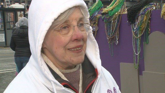 Michelle Dupske, the daughter of the founder of Soulard Mardi Gras. (Credit: KMOV)