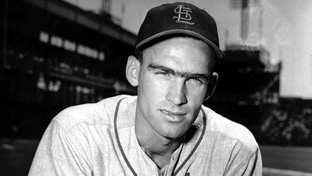 Wally Moon, outfielder of the St. Louis Cardinals, poses on June 19, 1954. (AP Photo/Rooney)