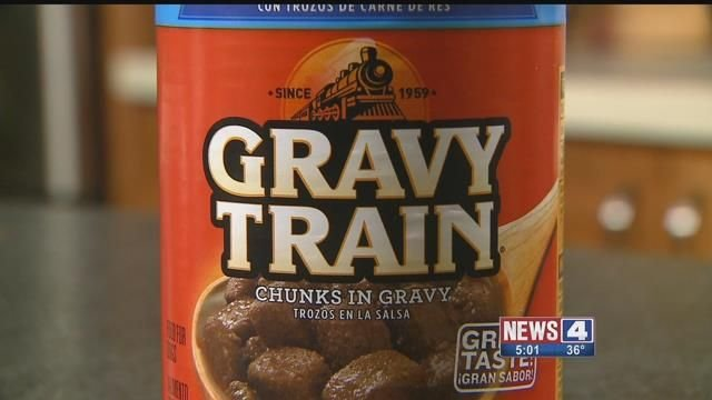 Gravy Train Wet Dog Food. Credit: KMOV