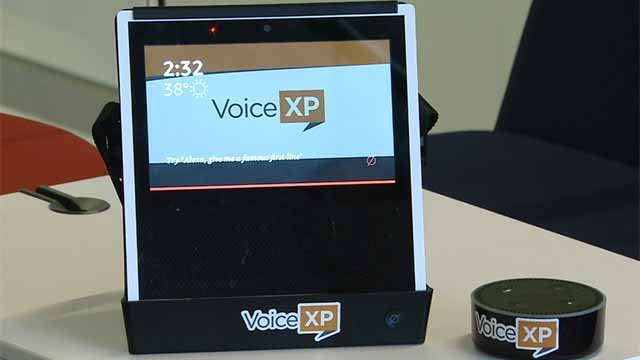 A start is putting Alexa in kiosks in St. Louis. Credit; KMOV