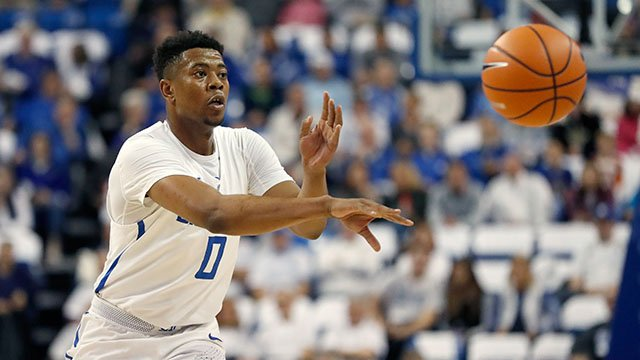 Goodwin, a freshman, will miss the remainder of the 2017-2018 season. (Credit: AP)