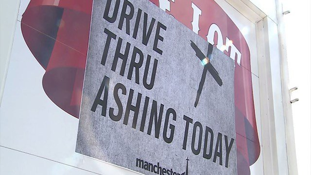 Manchester United Methodist Church will offer a drive thru service for Ash Wednesday ( Credit: KMOV)