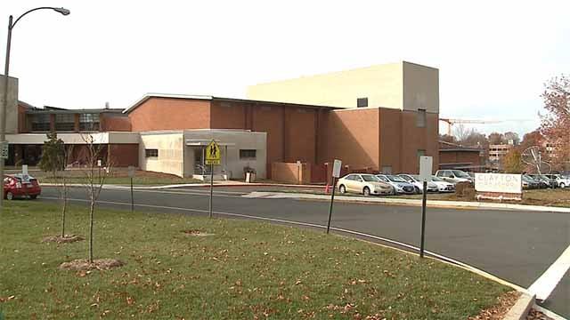 Clayton High School. Credit: KMOV