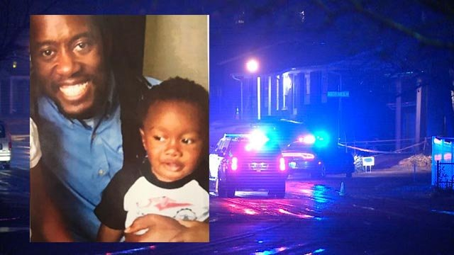 Malcom B. Mathis  II, 33, and 22-month-old Malcom B. Mathis III were fatally stabbed Thursday night (Credit: Family / KMOV)