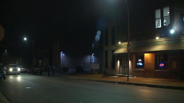 2 stabbing victims went to a South City bar for help overnight (Credit: KMOV)