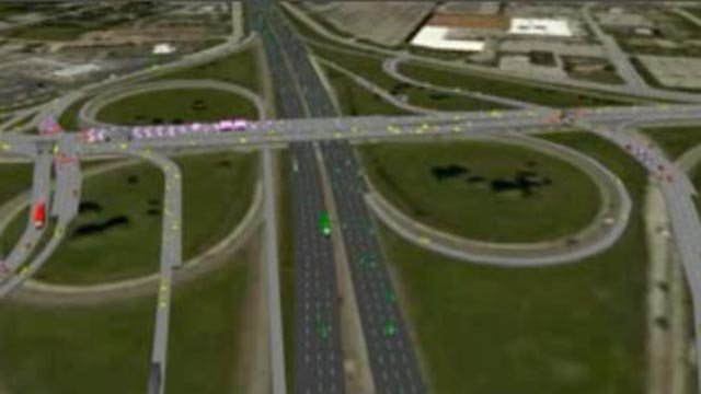 Rendering of I-270 North Project (Credit: MoDOT)