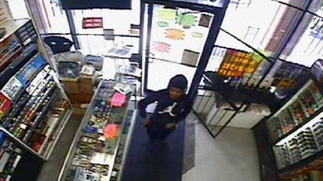 St. Louis Metropolitan Police Department is asking for the public's help locating a suspect accused of robbing a South City business. (Credit: SLMPD)