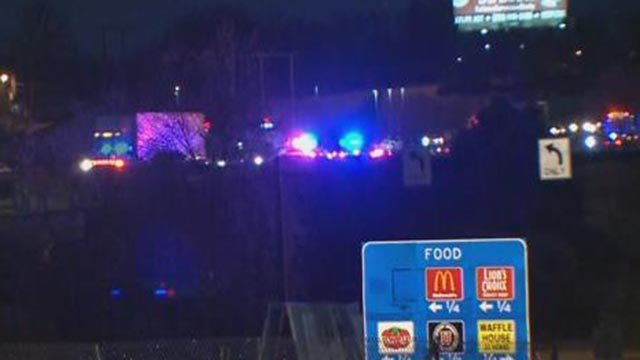 A tow truck driver was hit by a vehicle on WB I-70 at Highway K Wednesday (Credit: KMOV)