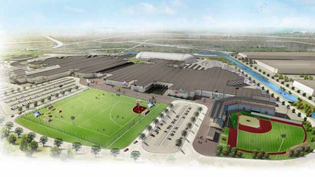 Officials in Hazelwood are hoping to turn the site of the St. Louis Mills into a youth sports complex. Credit: KMOV