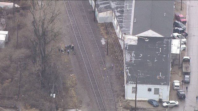 The body was found in the Holy Hills neighborhood of South St. Louis. (Credit: KMOV)