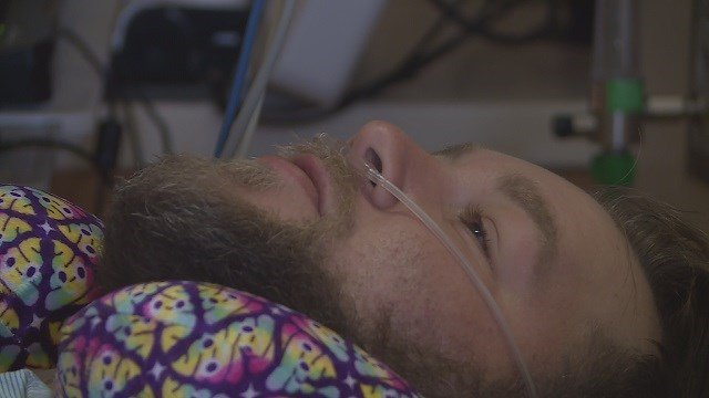 John Nelson was left with serious injuries after being hit by a car. (Credit: KMOV)