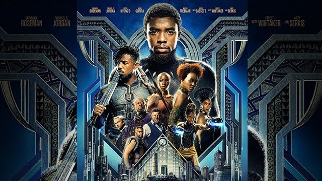 The poster for Marvel's Black Panther. (Credit: Disney/Marvel Studios)