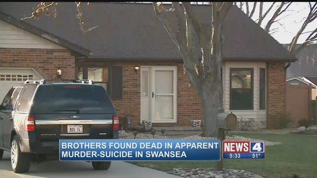 The home where two brothers were killed in an apparent murder-suicide Saturday (Credit: KMOV)