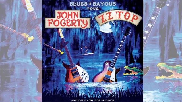 (Credit: John Fogerty & ZZ Top / 'Blues & Bayous Tour')