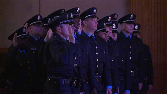 New police recruits. Credit: KMOV