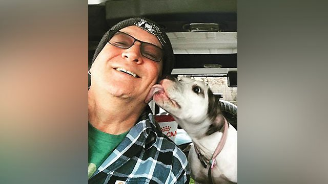 Stray Rescue founder Randy Grim is still recovering at a local hospital after suffering an aneurysm last week.  (Credit: Stray Rescue of St. Louis)