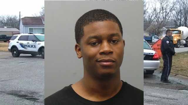 Lonnell Lewis-Jones, 25, is charged with two counts of murder in the second degree, assault and armed criminal action. He is being held on a $100,000 cash bond. (St.Louis County Police Department)