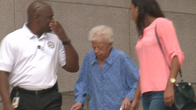 The mother of former St. Louis Police Chief Sam Dotson has pleaded guilty to embezzling millions of dollars from a Missouri real estate company. (Credit: KMOV)