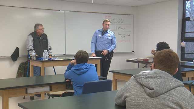 Thursday was Career Day at Miriam Academy in West County. Credit: KMOV