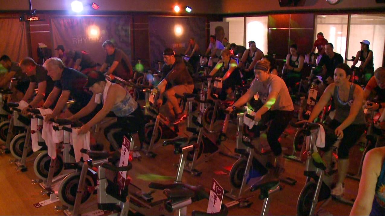 Over 7,000 people participated in the 3rd annual Ride for a Reason event (Credit: KMOV)