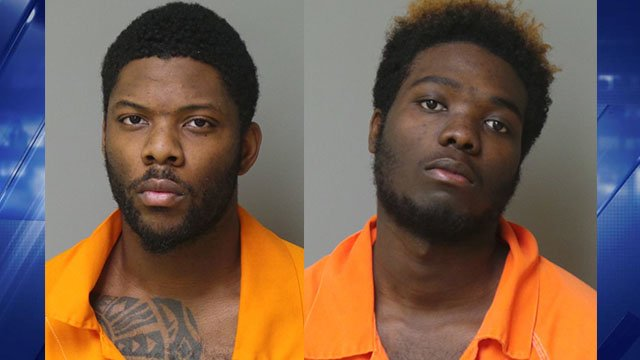 Chambers and Purham are charged with 1st degree armed robbery after robbing two people of their cell phones at Florissant Motel 6. (Credit: Florissant Police Dept.)