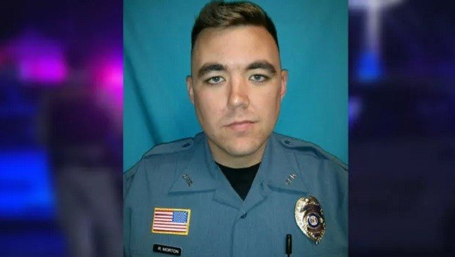 Clinton Police Department officer Christopher Ryan Morton, 30, was killed during the shooting. (Missouri Highway Patrol)
