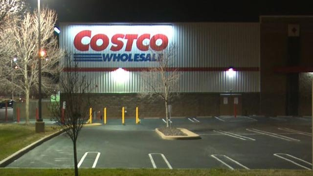 An off-duty St. Louis County officer started chasing suspects who allegedly stole from a Costco on Rusty Road Wednesday evening (Credit: KMOV)