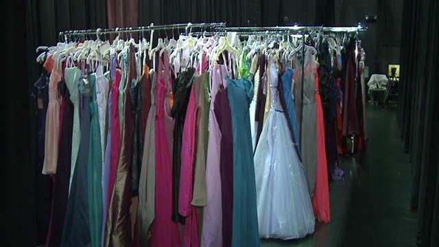 Fairy Glam Project offered gently used and brand new prom dresses to young girls in need. ( Credit: KMOV)