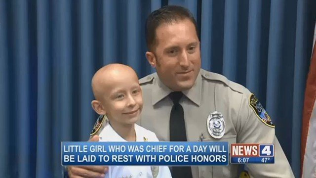 Eight-year-old Sydney Coari, left, passed away from kindey cancer on Feb. 28 (Credit: KMOV)