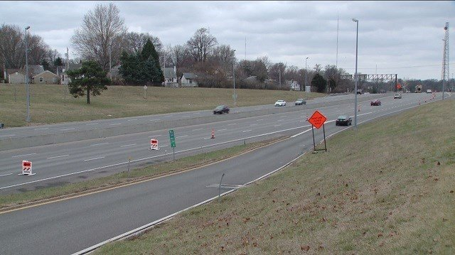 Crews will close the ramp from Shrewsbury in St. Louis County to eastbound I-44 after 12 p.m. on Wednesday, March 14, 2018, weather permitting. The ramp will remain closed until December 2018. (Credit: KMOV)