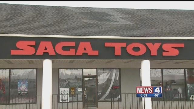 Owners of local toy stores are concerned about how the closure of Toys R Us will impact them. Credit: KMOV