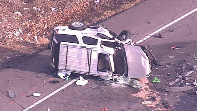 At least one person has died in a fatal crash in Imperial, MO. (Credit: KMOV)