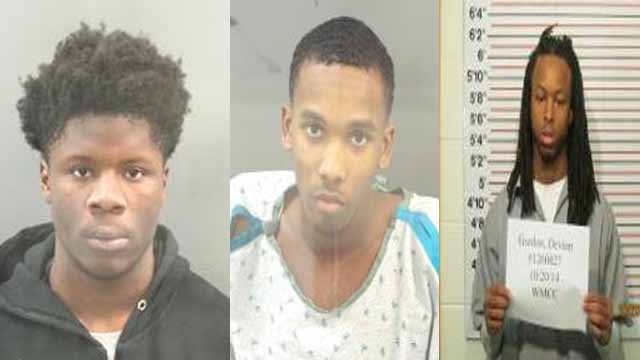 Keith Graham, 20, Terez Cook, Jr. 18, Devion Gordon, 22, and William Person, Jr., 21 (not pictured), are charged with first-degree murder, armed criminal action and conspiracy first-degree murder. Credit: SLMPD