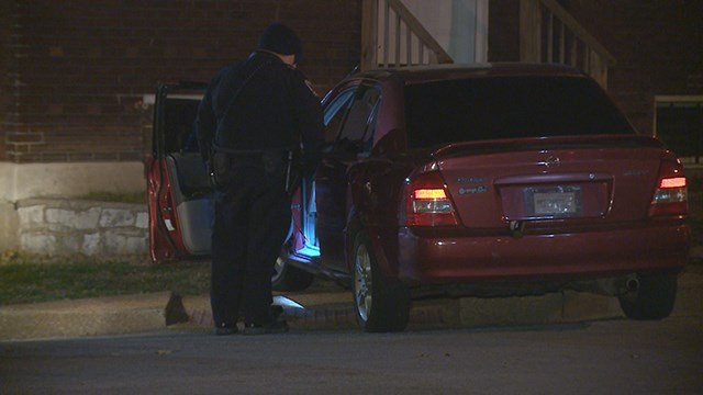 Police are searching for the driver who led them on a chase through several communities overnight. (Credit: KMOV)