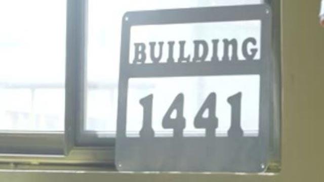 Building 1441 in Yendi, Ghana (Credit: Dr. Limpert)