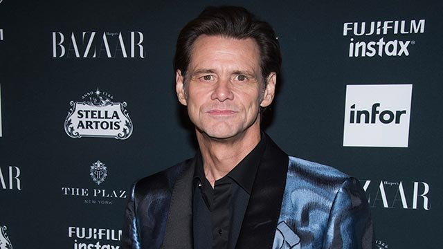 Jim Carrey attends the Harper's BAZAAR 'Icons by Carine Roitfeld' party at The Plaza Hotel on Friday, Sept. 8, 2017, in New York. (Photo by Charles Sykes/Invision/AP)