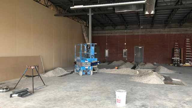 Jeffrey Doss plans to open Mackenzie Brewing Company, the first brewery in Valley Park this spring in a strip mall off Meramec Station Road and 141. Credit: KMOV