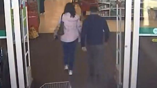 The suspects were last seen leaving the Ballwin Target on March 13. (Credit: Ballwin PD)