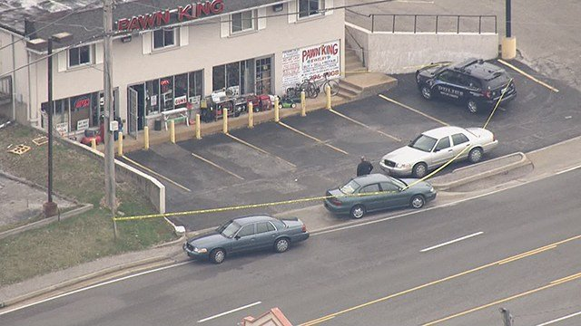 Arnold Police is investigating after a pawn shop employee fatally shot a man suspected of trying to rob his store. (Credit: KMOV)