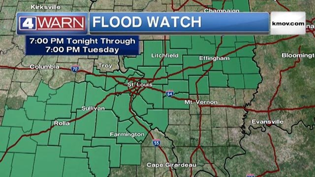 Flood Watch in effect Wednesday night through Thursday