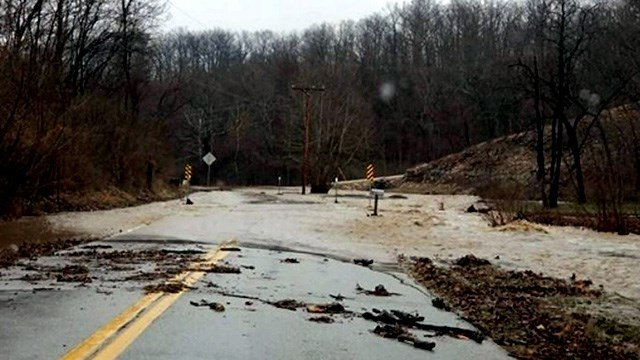 Residents started the Facebook group 'Dietrich Road Watch' because of the constant problems. (Credit: KMOV)